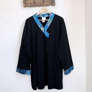 Vintage Yi Lin | Asian Wrap Kimono